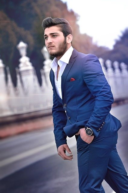 man-in-blue-custom-suit